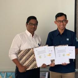 Penandatangan kerjasama PP Energi dengan Pelindo Energi Logi...